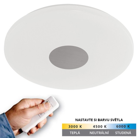 Eglo 75289 - LED stropní svítidlo VOLTAGO 1xLED/18W/230V stmívatelné