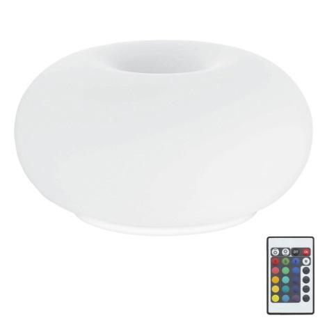 Eglo 75355 - LED RGB Stmívatelná stolní lampa OPTICA-C 2xE27/7,5W/230V
