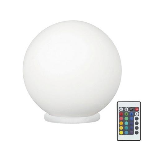 Eglo 79042 - LED RGB Stmívatelná stolní lampa RONDO C 1xE27/7,5W/230V