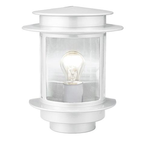 EGLO 80767 - Venkovní nástěnné svítidlo EXIT 1 1xE27/60W bílá