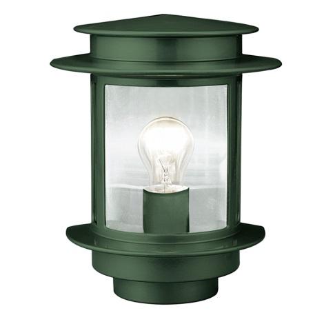 EGLO 80781 - Venkovní nástěnné svítidlo EXIT 1 1xE27/60W zelená