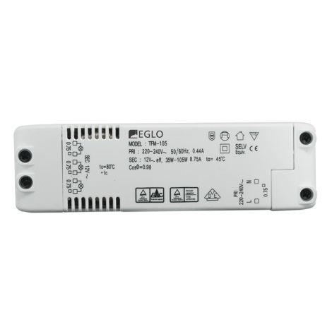 Eglo 80885 - Elektrický transformátor EINBAUSPOT 70W