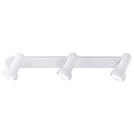 EGLO 81017 - Bodové svítidlo DALLAS 3xE14/R50/40W bílá