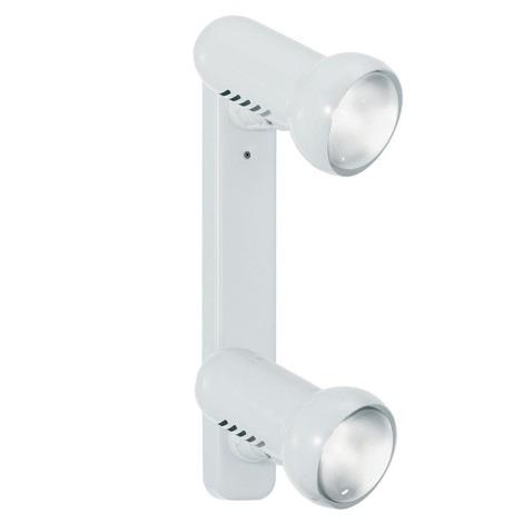 EGLO 81057 - Bodové svítidlo MANHATTEN 2xE27/60W bílá