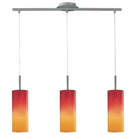 EGLO 83203 - Závěsné svítidlo TROY 1 3xE27/60W