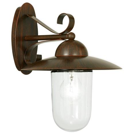 EGLO 83589 - Venkovní nástěnné svítidlo MILTON 1xE27/60W
