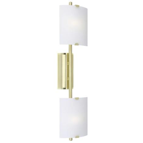 Eglo 83812 - Nástěnné svítidlo FONDO 2xG9/60W/230V