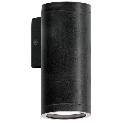 Eglo 83999 - Venkovní nástěnné svítidlo RIGA 1xGU10/50W/230V antracit IP44