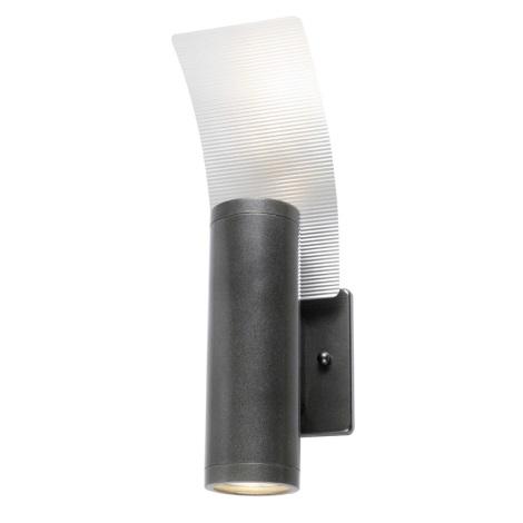 EGLO 85748 - Venkovní nástěnné svítidlo RIGA 2 2xGU10/50W