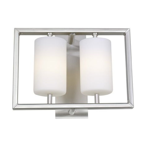 EGLO 86054 - Nástěnné stropní svítidlo JUBA 2xG9/40W