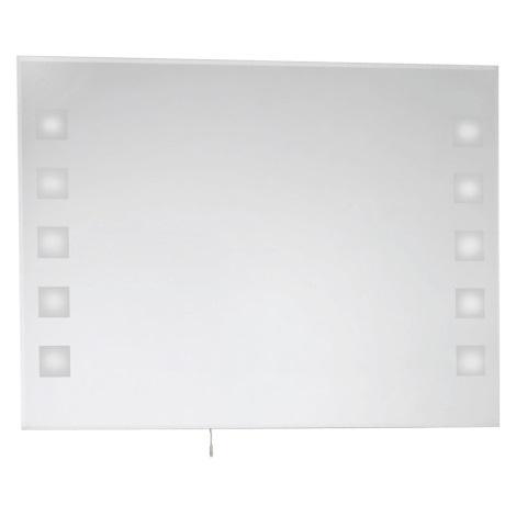 EGLO 86129 - Koupelnové zrcadlo s osvětlením 10xG4/10W