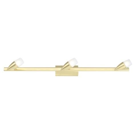Eglo 86155 - Bodové svítidlo NANDO 3xG9/40W mosaz