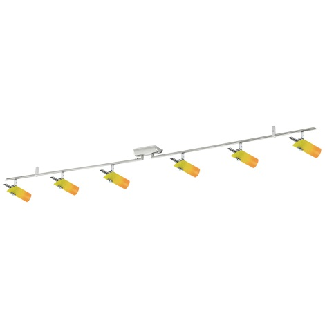 EGLO 86187 - Bodové svítidlo ELITE 2 6xG9/40W