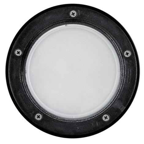 EGLO 86188 - Venkovní nájezdové svítidlo RIGA 3 1xE27/15W černá