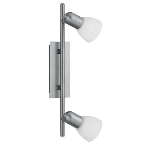 EGLO 86214 - Bodové svítidlo ARES 1 2xE14/40W bílá