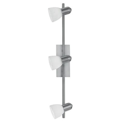 EGLO 86215 - Bodové svítidlo ARES 1 3xE14/40W bílá