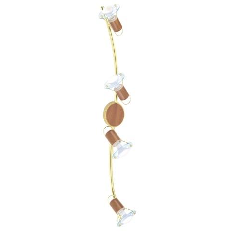 EGLO 86279 - Bodové svítidlo TORONTO 1 4xE14/40W