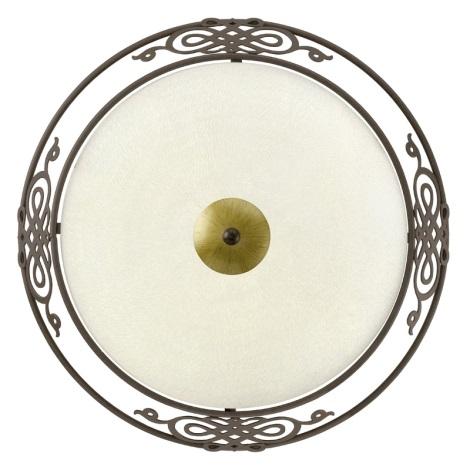 EGLO 86712 - Stropní nástěnné svítidlo MESTRE 2xE27/60W