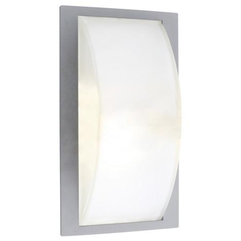 EGLO 87182 - Venkovní nástěnné svítidlo PARK 5 stříbrná
