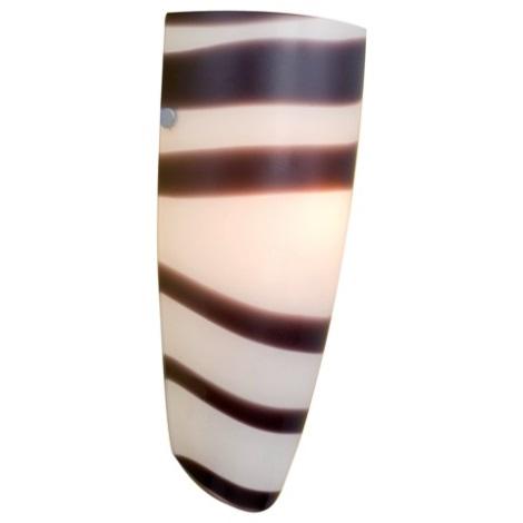 EGLO 87275 - Nástěnné svítidlo NARO 1xE27/60W černá / bílá