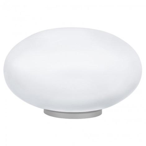 EGLO 87276 - Stolní lampa NARO 1xE27/60W stříbrná