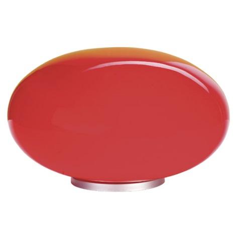 EGLO 87278 - Stolní lampa NARO 1xE27/60W červená