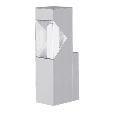 EGLO 87285 - Venkovní nástěnné svítidlo SAO PAULO 1xE27/15W stříbrná