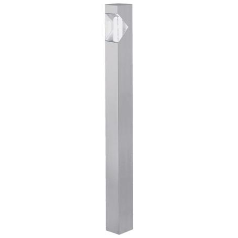 EGLO 87288 - Venkovní lampa SAO PAULO 1xE27/15W stříbrná