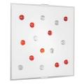 Eglo 87307 - Stropní nástěnné svítidlo SANTIAGO 1 2xE14/40W/230V