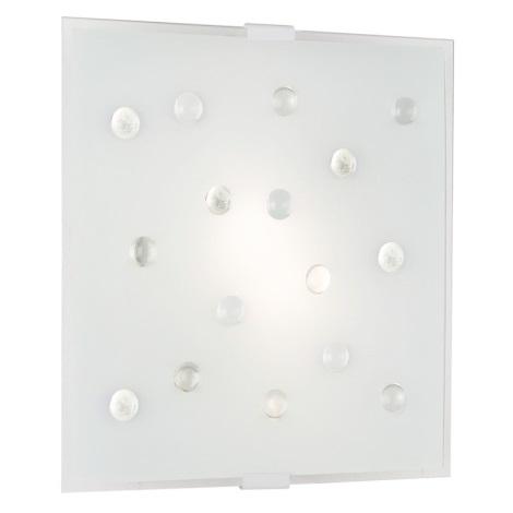 Eglo 87312 - Nástěnné stropní svítidlo SANTIAGO 1 2xE14/40W/230V bílá