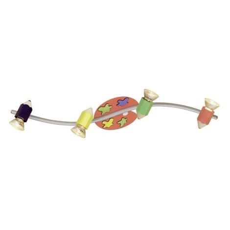 EGLO 87356 - Dětské bodové svítidlo JOLLY 4xGU10/50W