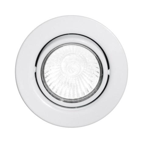 Eglo 87377 - Podhledové svítidlo EINBAUSPOT 1xGU10/50W/230V