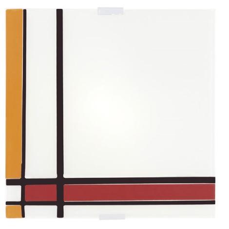 EGLO 87506 - Stropní svítidlo PIET 4xE14/40W červená/oranžová