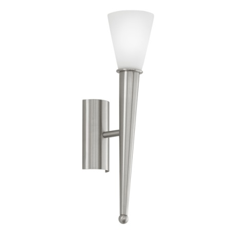 EGLO 87535 - Nástěnné svítidlo MARA 1xE14/60W bílé opálové sklo