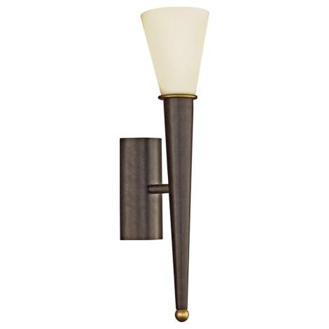 EGLO 87538 - Nástěnné svítidlo MARA 1xE14/60W antická hnědá