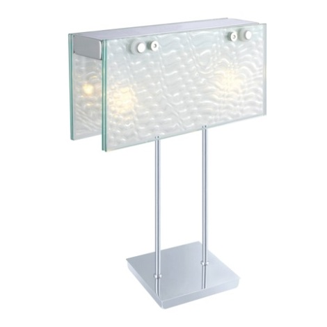 EGLO 87615 - Stolní lampa SAMBUCA 2xG9/40W chrom