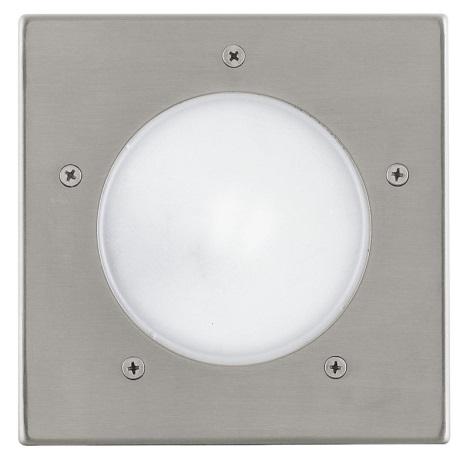 EGLO 88063 - Venkovní nájezdové svítidlo IP67 RIGA 3 1xE27/15W