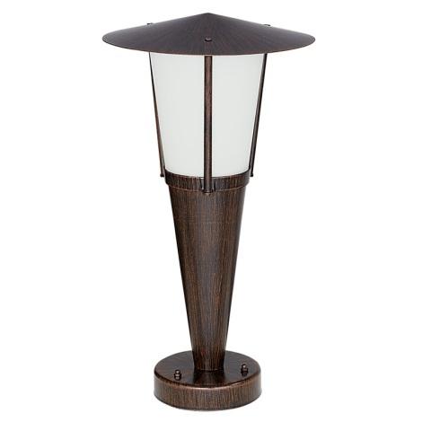 EGLO 88066 - Venkovní lampička SAN MARINO 1xE27/60W antická hnědá/bílá