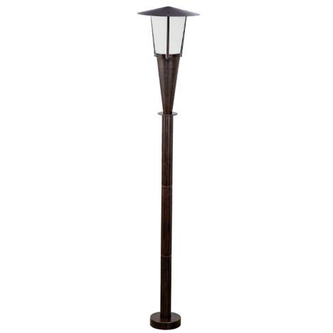 EGLO 88067 - Venkovní lampa SAN MARINO 1xE27/60W antická hnědá/bílá