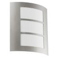 EGLO 88139 - Venkovní nástěnné svítidlo CITY 1xE27/15W/230V IP44
