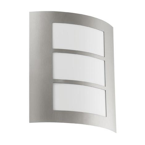 EGLO 88139 - Venkovní nástěnné svítidlo CITY 1xE27/15W