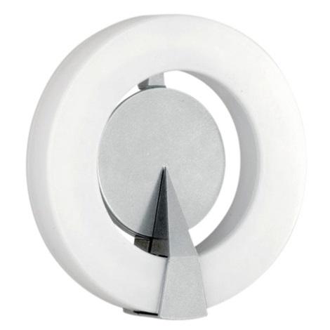 EGLO 88155 - Venkovní nástěnné svítidlo ROI 1x2GX13/22W stříbrná/bílá IP44