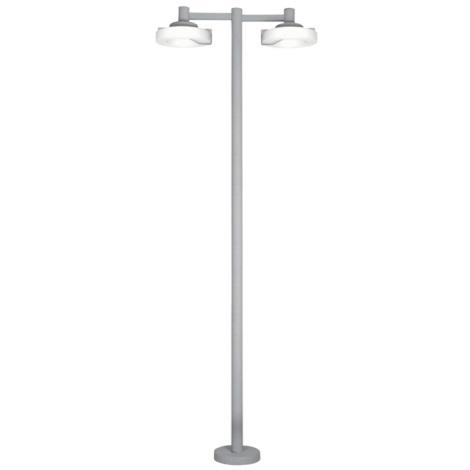 EGLO 88158 - Venkovní lampa ROI 2x2Gx13/22W stříbrná / bílá