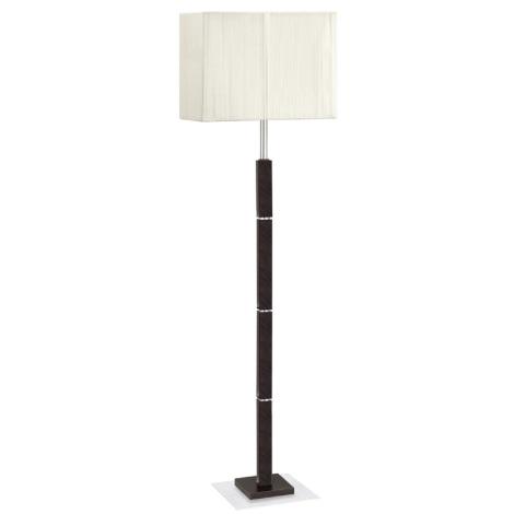EGLO 88337 - Stojanová lampa TOSCA 1xE27/60W hnědá/krémová