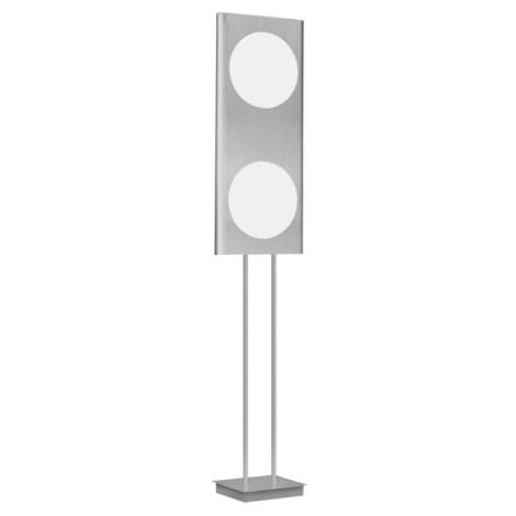 EGLO 88486 - Stojanová lampa ANAIS 2x2GX13/40W hliník/bílá