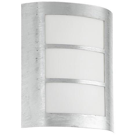 EGLO 88487 - Venkovní nástěnné svítidlo CITY 1xE27/15W galvanizovaná ocel