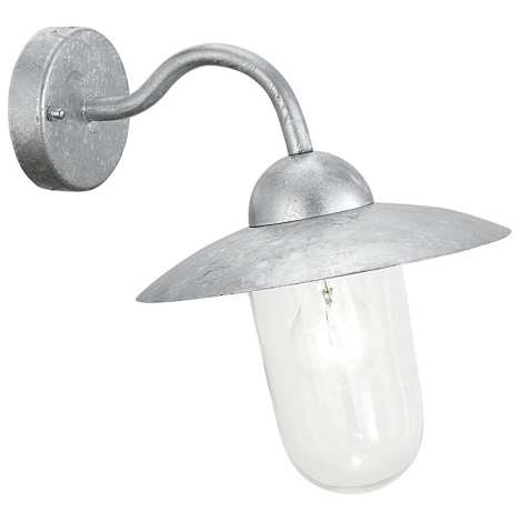 EGLO 88489 - Venkovní nástěnné svítidlo MILTON galvanizovaná ocel