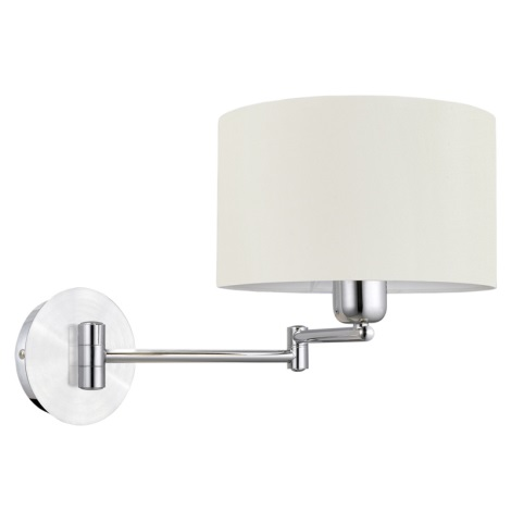 EGLO 88563 - Nástěnné svítidlo HALVA 1 x E27/60W bílá