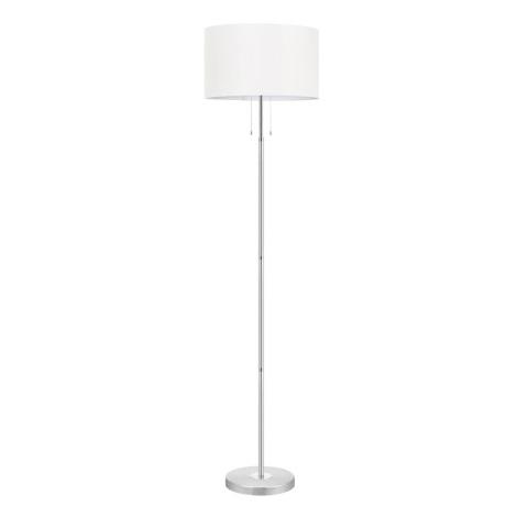 EGLO 88566 - Stojanová lampa HALVA 3xE27/60W bílá
