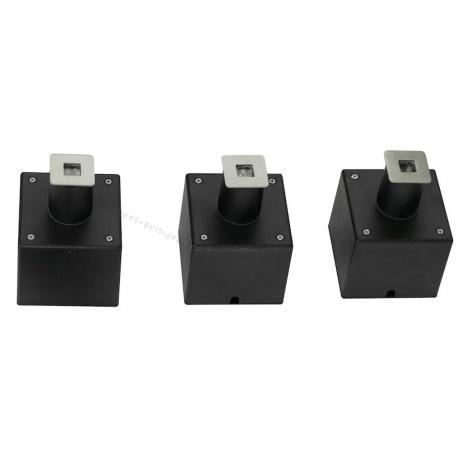 EGLO 88569 - SADA 3x LED Venkovní nájezdové svítidlo PARK 6 3xLED/0,18W čtverec